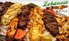 Lebanese Grill - Maple Road: $10 for $20 Toward Lebanese Dinner at Lebanese Grill in Troy (or $5 for $10 Toward Lunch)