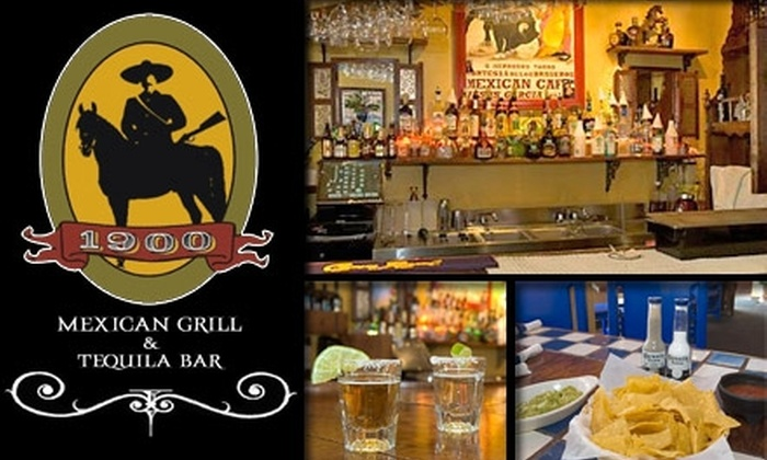1900 Mexican Grill - Elizabeth: $15 for $30 Worth of Mexican Cuisine and Festive Drinks at 1900 Mexican Grill