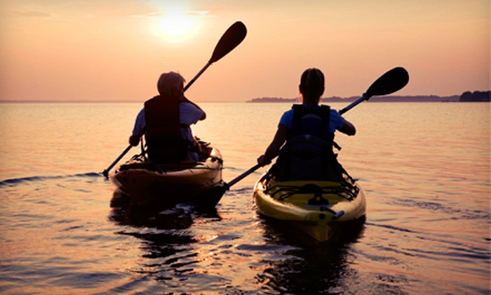 Narrow River Kayaks - Narragansett: $27 for a Two- or Four-Hour Kayak or Canoe Rental at Narrow River Kayaks in Narragansett (Up to a $56 Value)