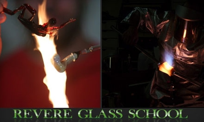 Revere Glass School - Southwst Berkeley: $99 for a Four-Hour Glass-Blowing Class at Revere Glass School in Berkeley ($220 Value)