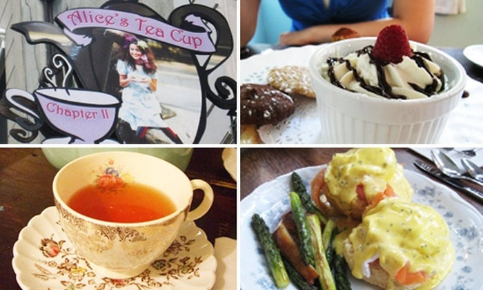 Alice's Tea Cup - Upper East Side: 47% Off Three-Tiered Breakfast Weekdays at Alice's Tea Cup
