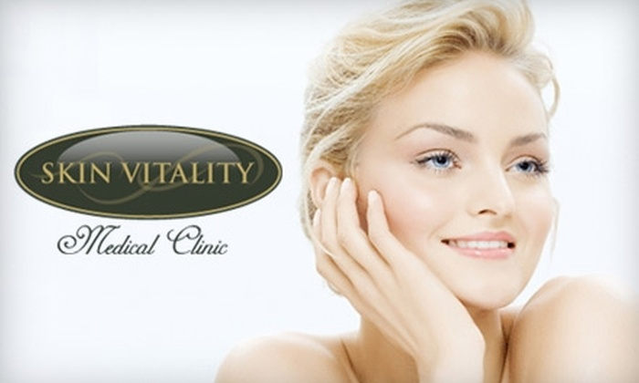 Skin Vitality Medical Clinic - Multiple Locations: $199 for Three Skin Tightening Treatments at Skin Vitality Medical Clinic ($1,185 Value)
