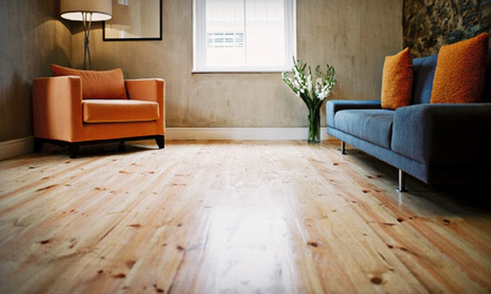 Nhance - Masham: Up to 200 or 800 Square Feet of Hardwood-Floor Renewal from Nhance (Up to 72% Off)