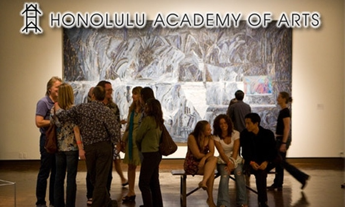 Honolulu Academy of Arts - Makiki - Lower Punchbowl - Tantalu: $5 for a One-Day Pass to the Honolulu Academy of Arts (Up to $10 Value)