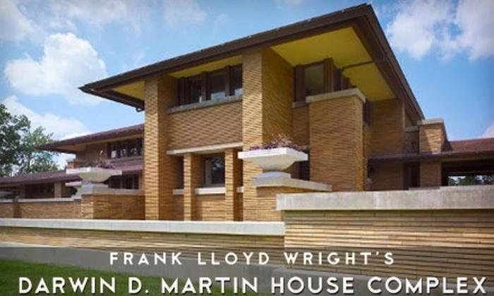 Suche nach Beamten sehr günstig später Frank Lloyd Wright's Martin House Complex