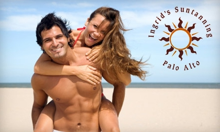 Ingrid's Suntanning - Evergreen Park: $40 for a One-Month Unlimited Tanning Package at Ingrid's Suntanning in Palo Alto ($184.95 Value)