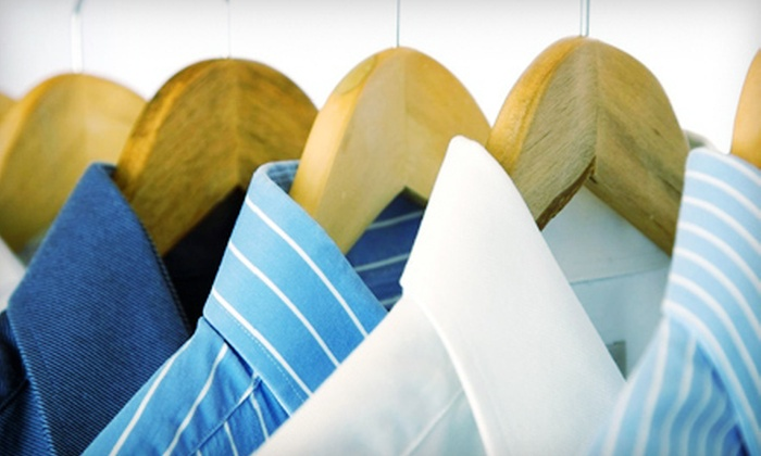 Master Cleaners - Multiple Locations: $10 for $20 Worth of Dry-Cleaning and Laundry Services at Master Cleaners