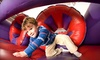 BounceU - Apex: Two or Five Open-Bounce Passes, Three-Month Bounce Pass, or Party Package for Up to 15 Kids at BounceU in Apex