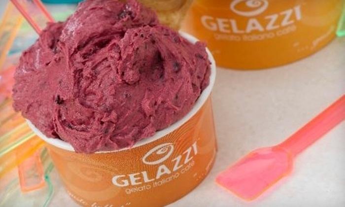 Gelazzi Gelato Italiano Café - Highlands Ranch: $5 for $10 Worth of Gelato at Gelazzi Gelato Italiano Café in Highlands Ranch