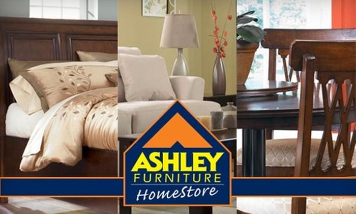Ashley Furniture HomeStore - Multiple Locations: $50 for $200 Worth of Furniture at Ashley Furniture HomeStore