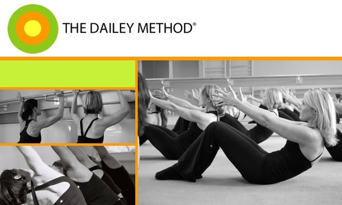 The Dailey Method  - Burlingame Gardens: $20 for Two Fitness Classes at The Dailey Method ($40 Value). Buy Here the Burlingame Location. Additional Locations Below.