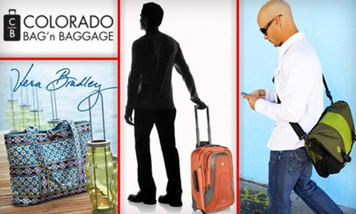 Colorado Bag'n Baggage - East Colorado Springs: $40 for $100 Worth of High-End Luggage, Travel Accessories, and More at Colorado Bag'n Baggage