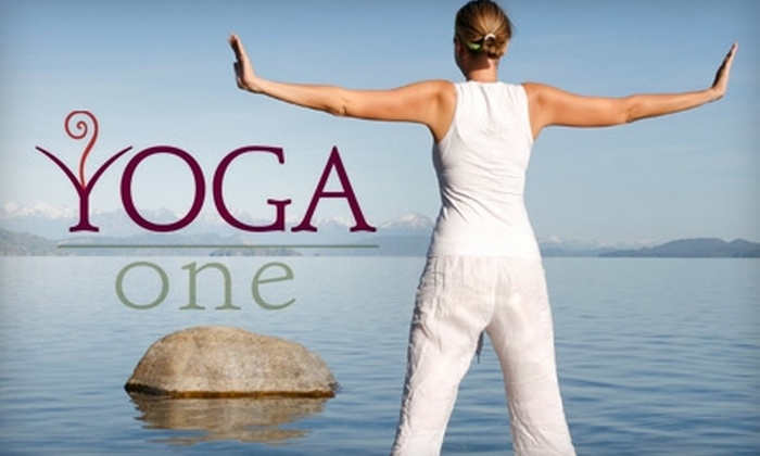 Yoga One - San Diego: $25 For Five Yoga Classes at Yoga One ($65 Value)