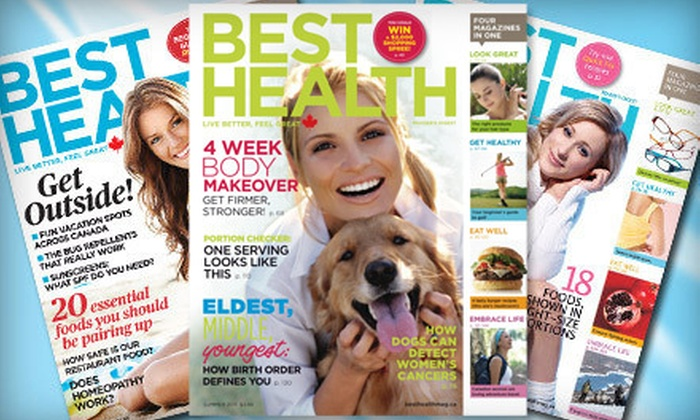 """Best Health"" Magazine - Nicomeki: $12 for a One-Year Subscription to ""Best Health"" Magazine ($25.32 Value)"