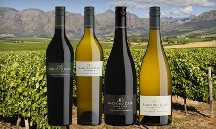 Radford Dale: $45 for Four Bottles of Premium Imported Wine with Shipping Included from Radford Dale Wines ($135.75 Value)
