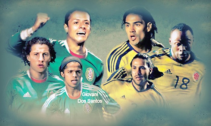 Mexico versus Colombia International Soccer Match - Miami Gardens: One Ticket to Mexico Versus Colombia Soccer Match at Sun Life Stadium on February 29 at 7:30 p.m. Two Options Available.