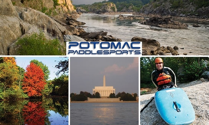 Potomac Paddle Sports - North Bethesda: $49 for DC Monument Kayak Trip with Potomac Paddlesports