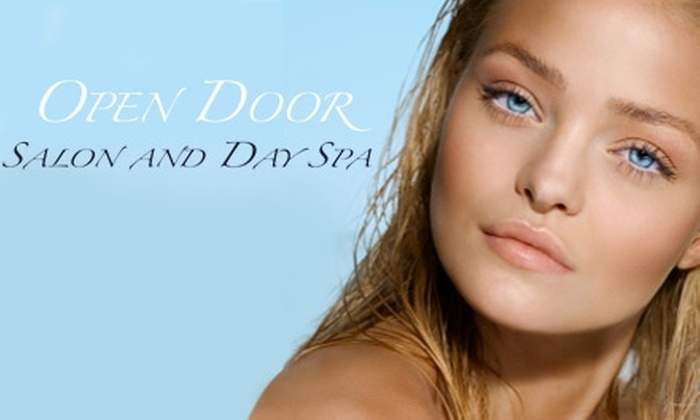Open Door Salon & Day Spa - East Broad: $20 for a Full-Body Airbrush Tan at Open Door Salon and Day Spa ($40 Value)