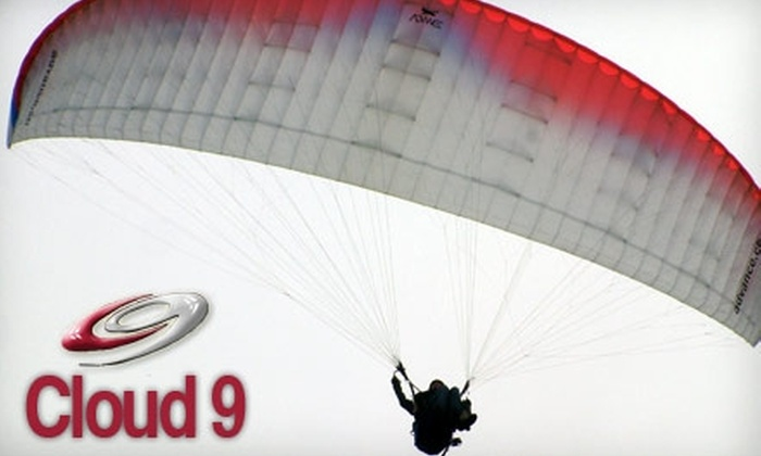 Cloud 9 Paragliding School - Salt Lake City: $49 for an Introductory Paragliding Lesson from Cloud 9 Paragliding School ($95 Value)