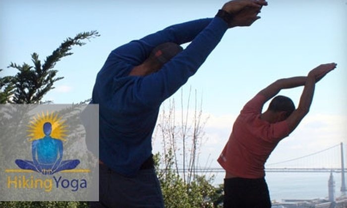 Hiking Yoga  - Multiple Locations: $20 for Two Outdoor Fitness Classes from Hiking Yoga ($40 Value)