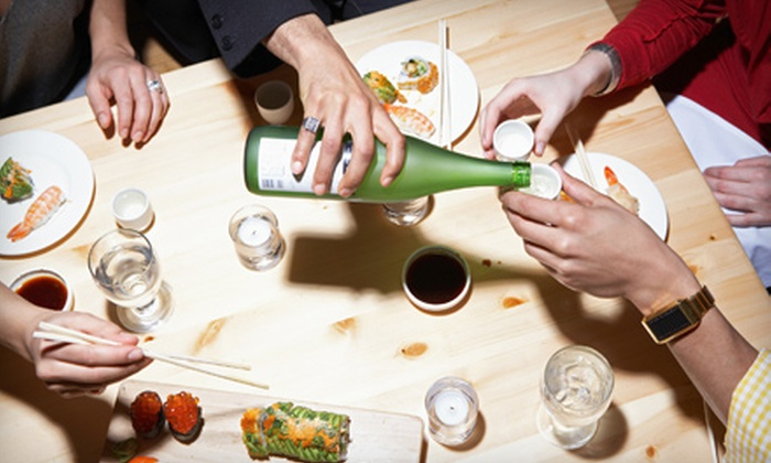 Fushimi Modern Japanese Cuisine & Lounge - Dongan Hills: $89 for an Open-Bar Package for Up to Six People at Fushimi Modern Japanese Cuisine & Lounge on Staten Island (Up to $250 Value)