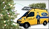Yellow Van Handyman **DNR**: $62 for a  7'–8' Christmas Tree and Home Delivery ($139 Value) or $134 for Tree, Delivery, and Set Up ($299 Value) from Yellow Van Handyman