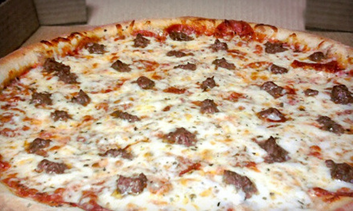 Upper Crust Pizza Parlor - Ardmore: Pizza, Sandwiches, and Italian Fare at Upper Crust Pizza Parlor (Half Off). Two Options Available.