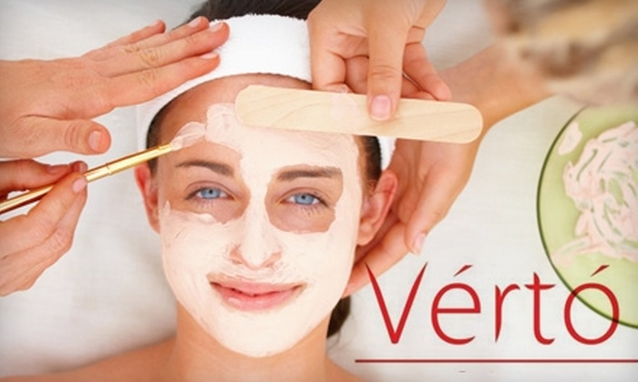 Verto Salon - Goose Island: $45 for Chemical Peel or Skin-Tightening Mask at Verto Salon ($100 Value)