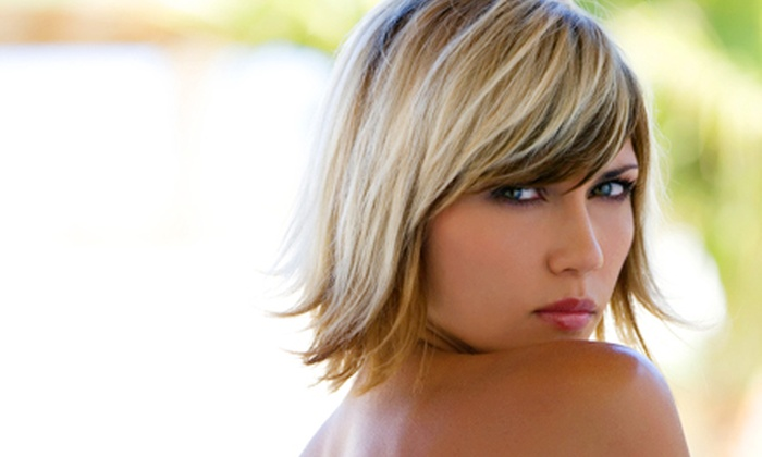 Live to Dye Salon - Terra Losa: Hair and Lash Services at Live to Dye Salon. Four Options Available.