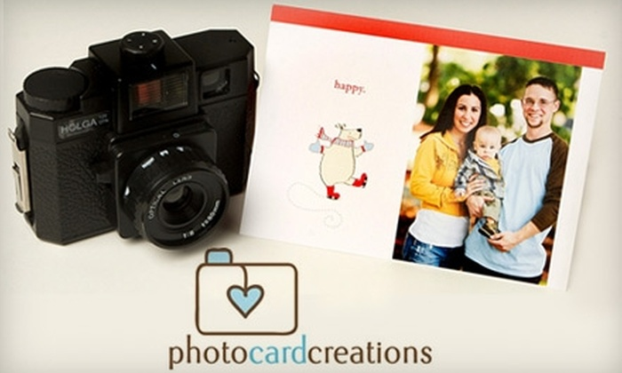 Photo Card Creations: $25 for $50 Worth of Personalized Photo Cards from Photo Card Creations