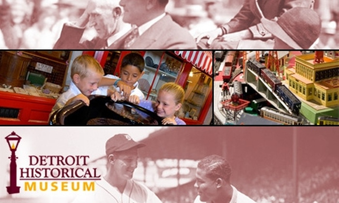 Detroit Historical Museum - University: $5 for Two Tickets to the Detroit Historical Museum, Plus 10% Off at the Museum Store (Up to $12 Value)