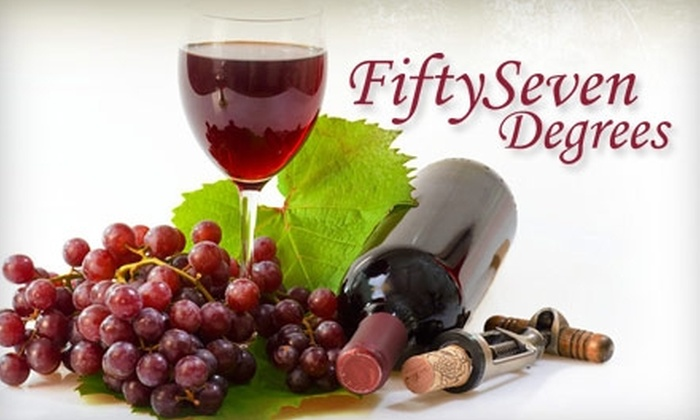 Fifty Seven Degrees - Midtown: $19 for $50 Worth of Beer, Wine, and Bites at Fifty Seven Degrees