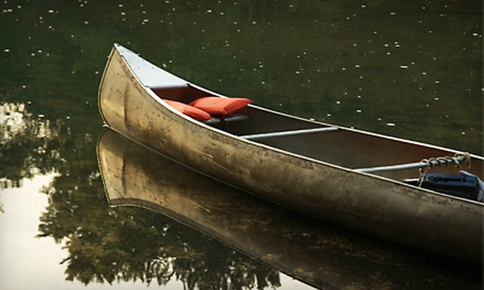 Palmetto Outdoor Center - West Columbia: $79 for a Three-Hour Historic Journey Canoe Trip for Two Adults and Up to Two Kids from Palmetto Outdoor Center