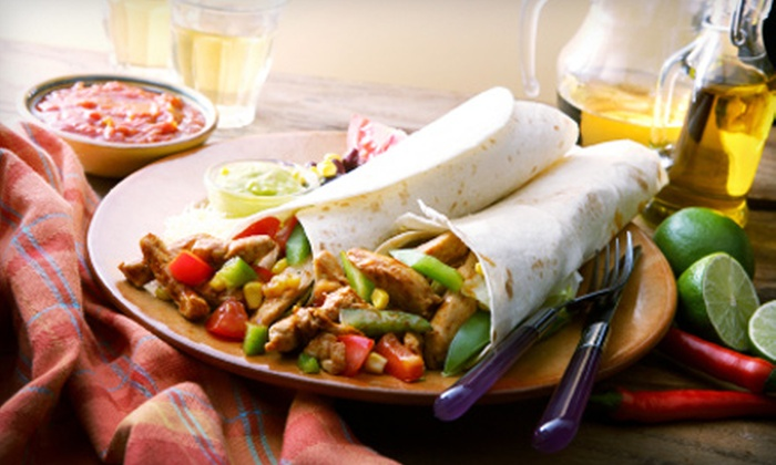 The Armadillo - Multiple Locations: Three-Course Mexican Meal with Margaritas for Two or Mexican Fare at The Armadillo