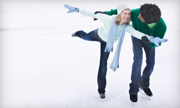 Mid-South Ice House - Olive Branch: Ice-Skating Outing with Skate Rental for Two or Four at Mid-South Ice House in Olive Branch (Up to 52% Off)