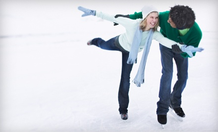 Public Skating Admissions and Skate Rentals for 2 people (a $22 value) - Mid-South Ice House in Olive Branch