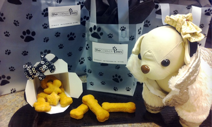 The Corner Paws - Dufresne: $15 for $30 Worth of Freshly Made Pet Treats at The Corner Paws