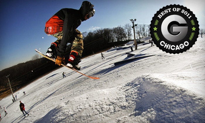 Raging Buffalo Snowboard Ski Park - Raging Buffalo Snowboard Park: Riding Package or Ski or Snowboard Lift Ticket at Raging Buffalo Snowboard Ski Park in Dundee (Up to 70% Off)