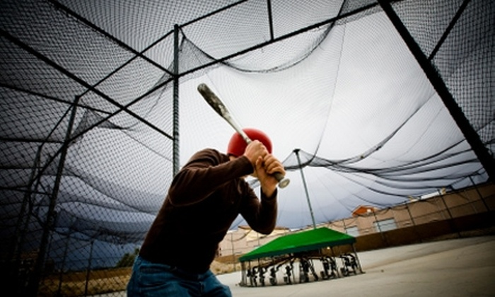 The Bat Cage - Castle Rock: $11 for 15 Batting Cage Sessions at The Bat Cage in Farmington ($23 Value)
