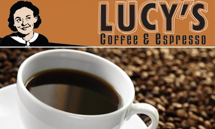 Lucy's Coffee and Espresso - Southeast Boise: $5 for $10 Worth of Organic Coffee and Café Treats at Lucy's Coffee and Espresso