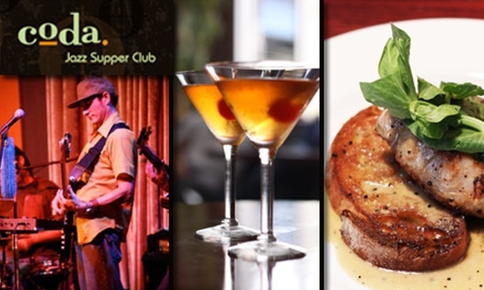 Coda - Mission: $15 for $30 Worth of Meals, Drinks, and Sounds at Coda