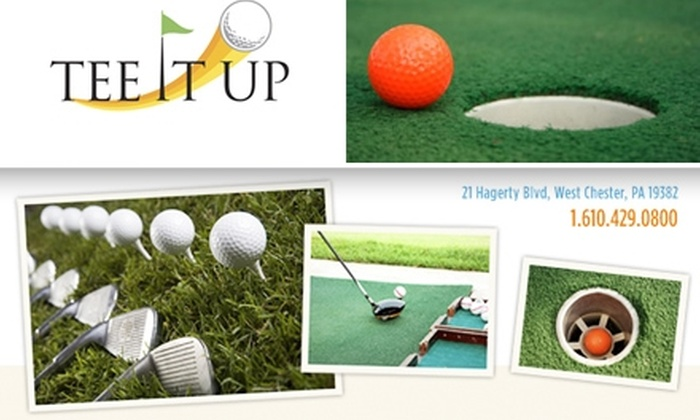 Tee It Up Golf - West Goshen: $14 for One Game of Mini-Golf and Two Driving-Range Ball Buckets at Tee It Up Golf ($28 Value)