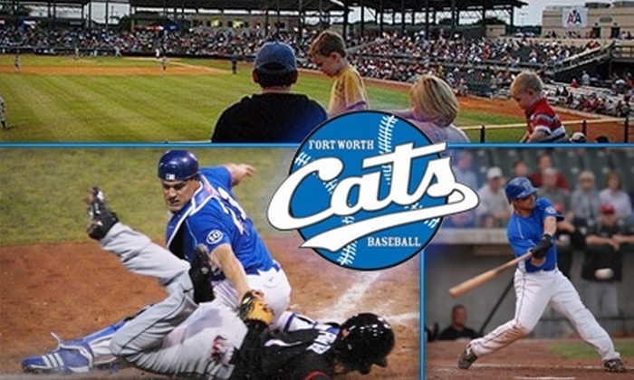 Fort Worth Cats - North Fort Worth: $6 for One Reserved Box Ticket to a Fort Worth Cats Game ($14 Value)