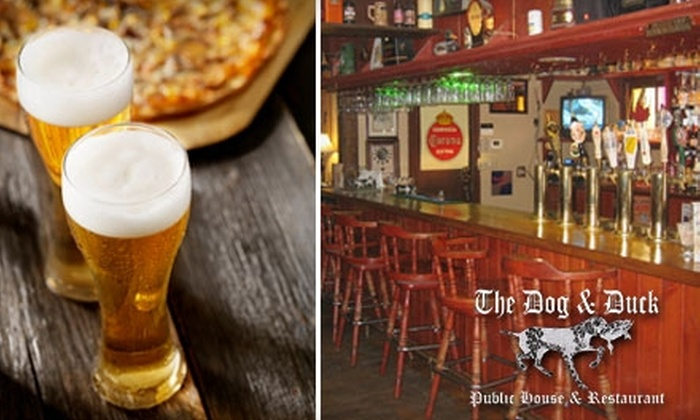 The Dog & Duck Public House & Restaurant - Alyth - Bonnybrook - Manchester: $12 for $30 Worth of Pub Grub and Potables at The Dog & Duck Public House & Restaurant