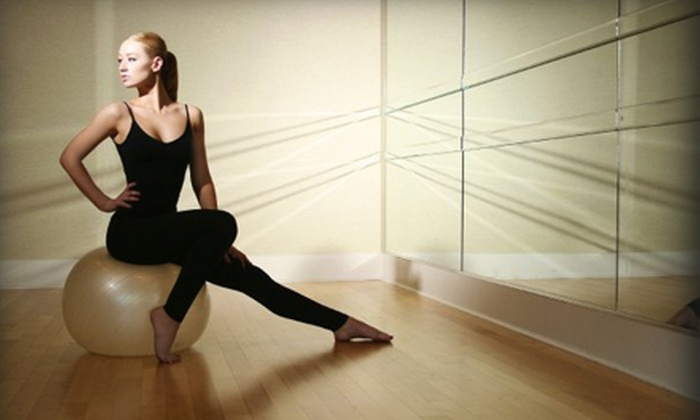 Inner Me Studios - Neartown/ Montrose: Six Motion and Energy Fitness and Dance Classes or Three Pole-Dance Classes at Inner Me Studios (Up to 59% Off)