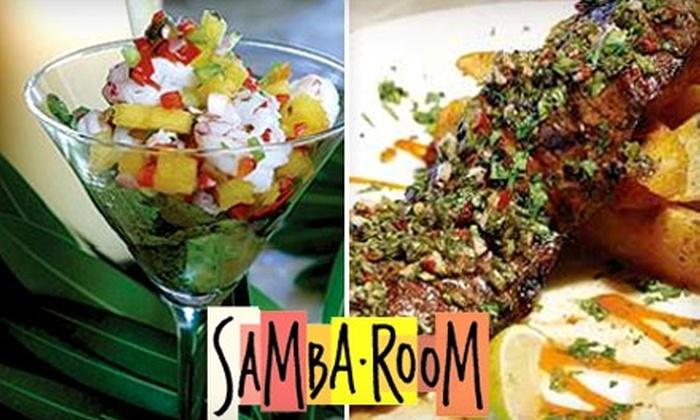 Samba Room - Doctor Phillips: $15 for $30 Worth of Latin Cuisine and Drinks at Samba Room