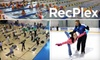 RecPlex - Pleasant Prairie: $9 for Two Ice Skate Rentals and Admission for Two to Open Skate ($18 Value) or $5 for One Adult Day Pass at RecPlex (Up to $16 Value)