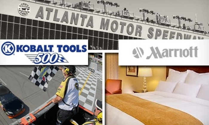 Racepackage.com - Atlanta: $350 for a Two-Person Kobalt Tools 500 NASCAR Sprint Cup Race Package (Up to $555 Value)