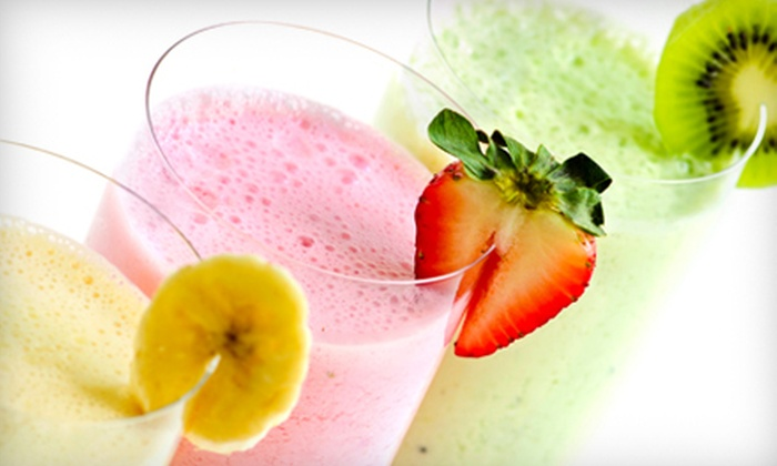 Jessie's Juice - Sidney: Five or Ten Small Smoothies at Jessie's Juice in Sidney (Up to 55% Off)