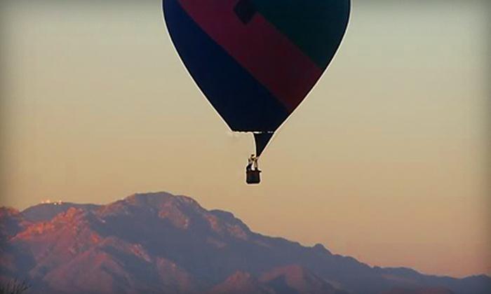 Foolish Pleasure Hot Air Balloon Rides - Tucson: $149 for One Admission to a One-Hour Hot Air Balloon Ride from Foolish Pleasure Hot Air Balloon Rides ($235 Value)